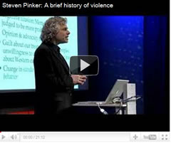 Una breve historia de la violencia por Steven Pinker
