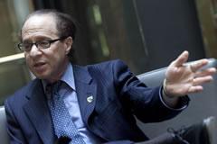 Ray Kurzweil, durante su visita a Madrid. | Foto: Óscar Monzón