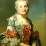 Retrato de Charlotte Suzanne, esposa de Holbach