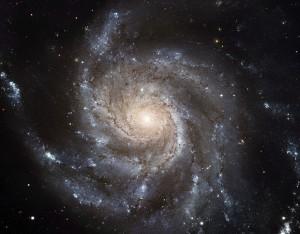 Galaxia en espiral Messier 101