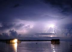 El lago Maracaibo es el lugar con más rayos del mundo