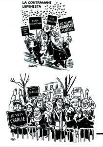 "Viñeta de ""Charlie Hebdo"""