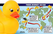 29 000 juguetes de plástico cayeron al mar y nos informaron de las corrientes oceánicas